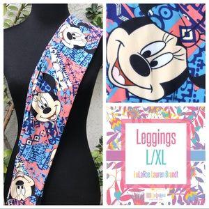 NWT! LuLaRoe Disney Kids Leggings, L/XL (8-14)